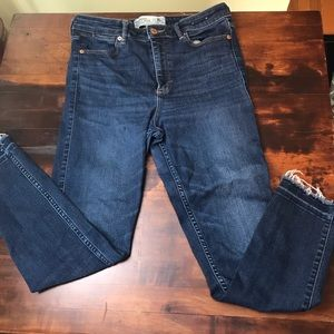 Abercrombie and Fitch High Waisted Jeans